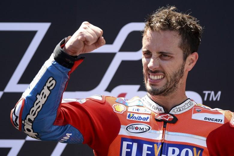 Dovizioso Mulai Diperhitungkan dalam Persaingan Gelar, Ducati Tetap Realistis